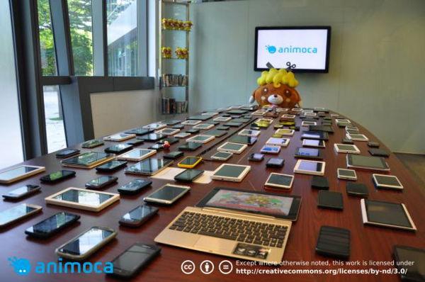 Ratusan Gadget Android Untuk Testing