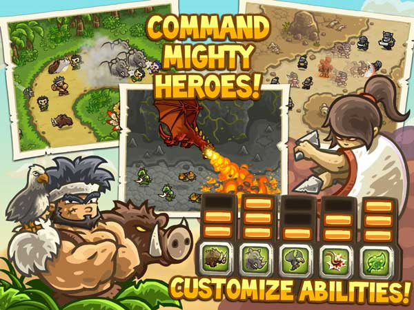 Review Kingdom Rush Frontiers | GameSaku