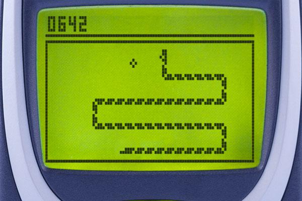 Hasil gambar untuk permainan snakes nokia