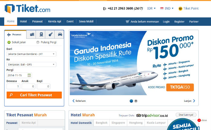 9 Website Booking Tiket Pesawat Indonesia