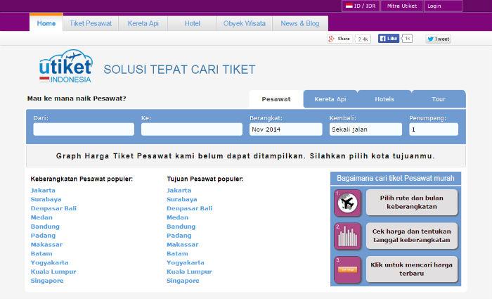 9 Website Booking Tiket Pesawat Indonesia