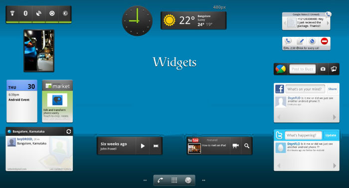 Tip Mengatasi Android Lemot | Widget