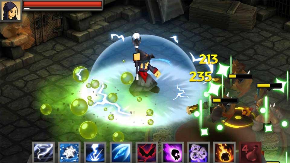 Battleheart Legacy screenshot1 - Inilah Game Bagus RPG Android Yang Bisa Anda Coba