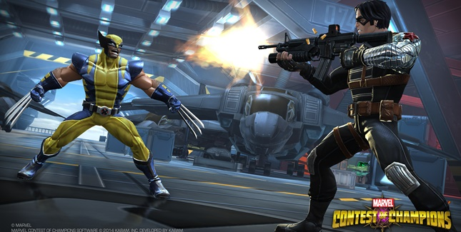gambar game marvel contest of champions Game Fighting Di Smartphone Terkece