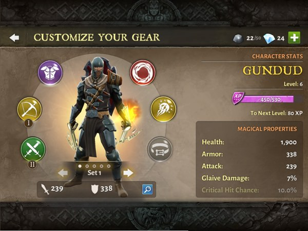 dungeon hunter 3 v1.5.0 mod apk