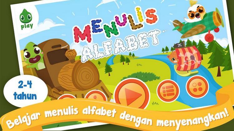 Ajak Anak Belajar Menulis di Game Karya Rolling Glory Ini