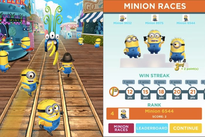 Despicable Me Minion Race | screenshot