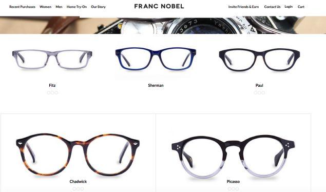 Sejauh ini Franc Nobel memiliki 13 model kacamata yang dirancang unisex.  Meski begitu c004b5d2d2