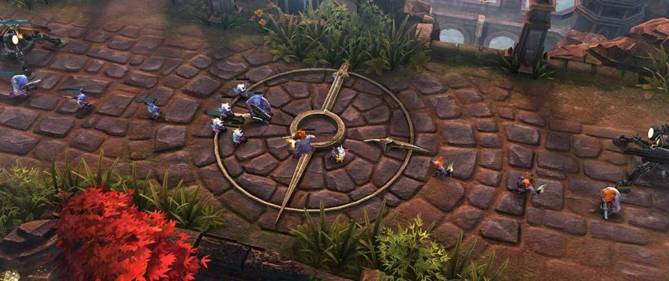 Vainglory Lane Battle | Screenshot
