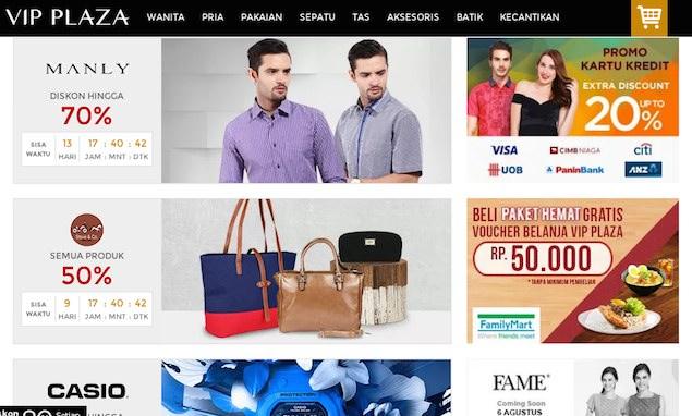 VIP Plaza situs ecommerce fashion indonesia. Satu hal yang membedakan VIP  Plaza dari sebagian besar toko online ... bc36b7d8ca