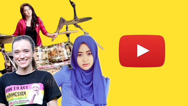 Daftar YouTuber Wanita Indonesia Paling Populer | Featured