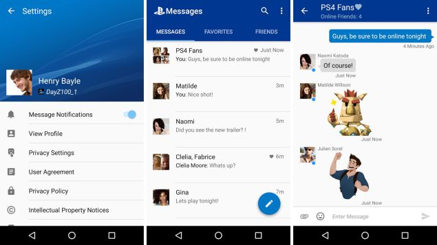 Chatting dengan Akun PSN Melalui PlayStation Messages