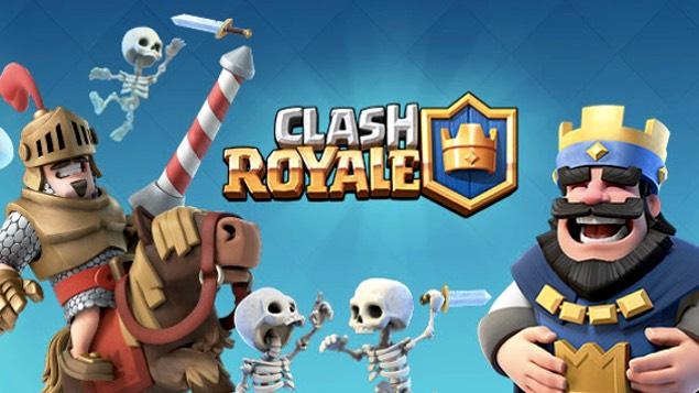 Hasil gambar untuk gambar game clash royale game android terpopuler