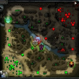 Dota 2 Mini Map Awareness
