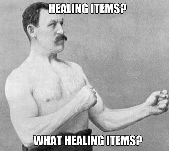 Healing Items | Meme