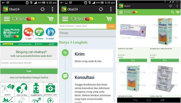 screenshot aplikasi obat24