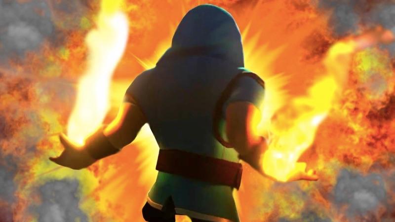 Clash of Clans Burn | Screenshot