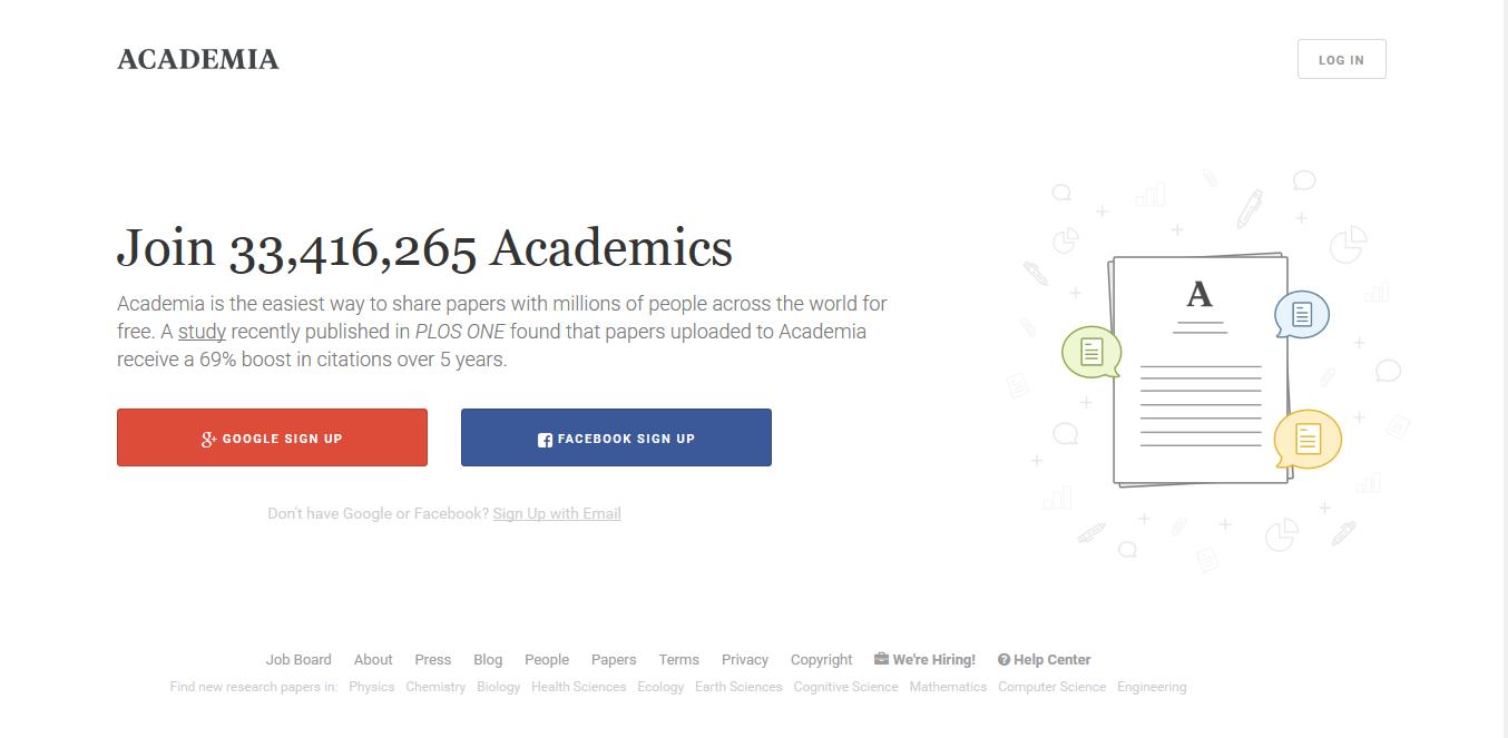 Academia - Screenshot