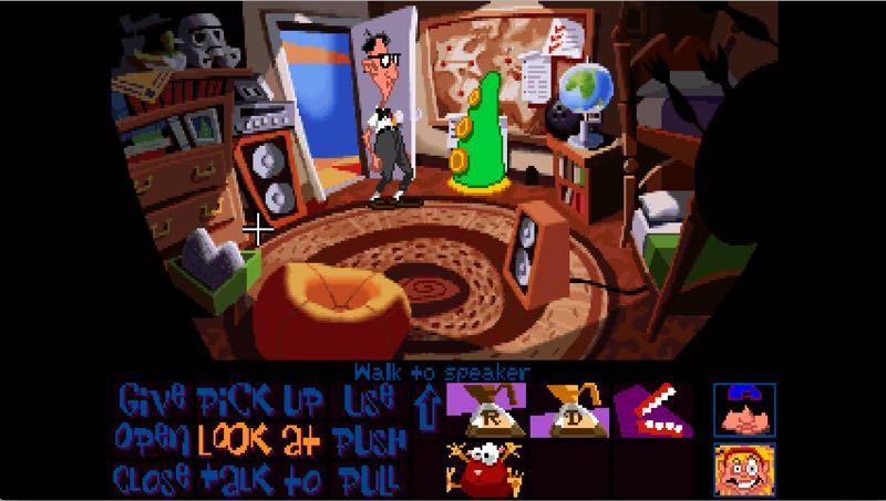 Hasil gambar untuk gambar game Day Of The Tentacle