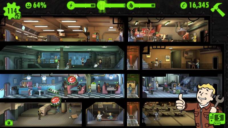 Fallout Shelter | screenshot