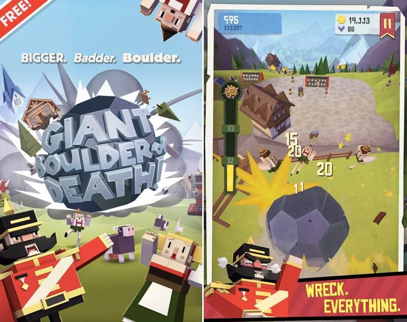 Giant Boulder of Death   screenshot