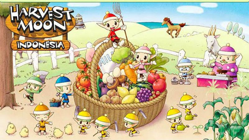 Harvest Moon: Friend of Mineral Town Bahasa Indonesia