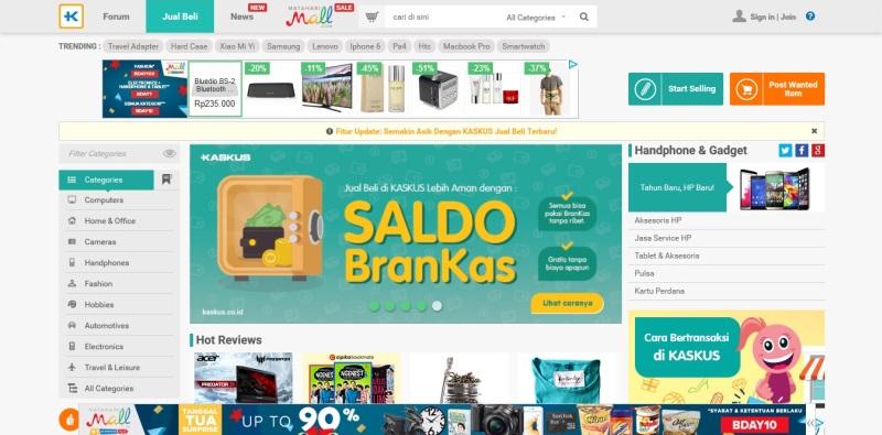 Kumpulan Toko Online Populer Di Indonesia