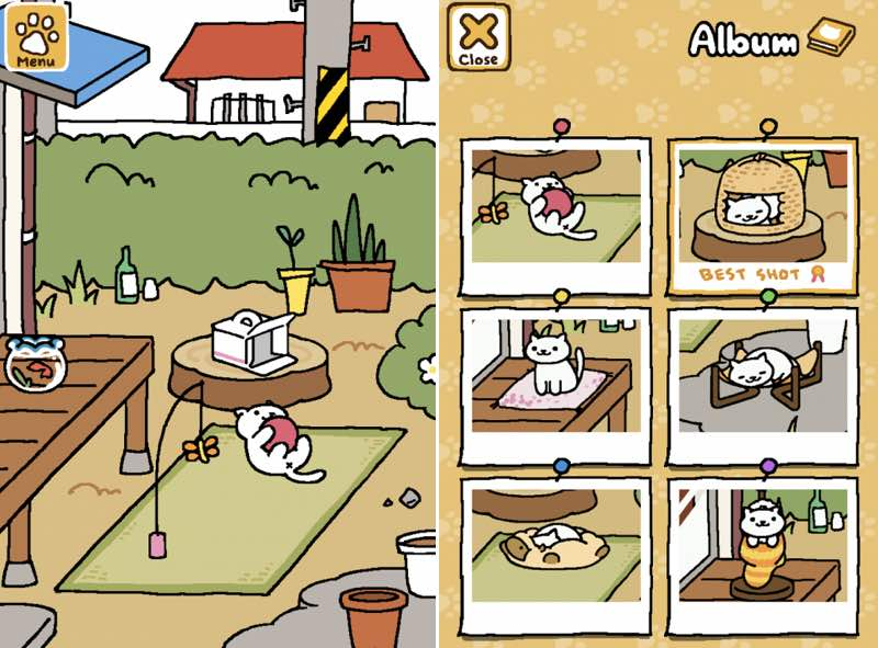 Neko Atsume | screenshot