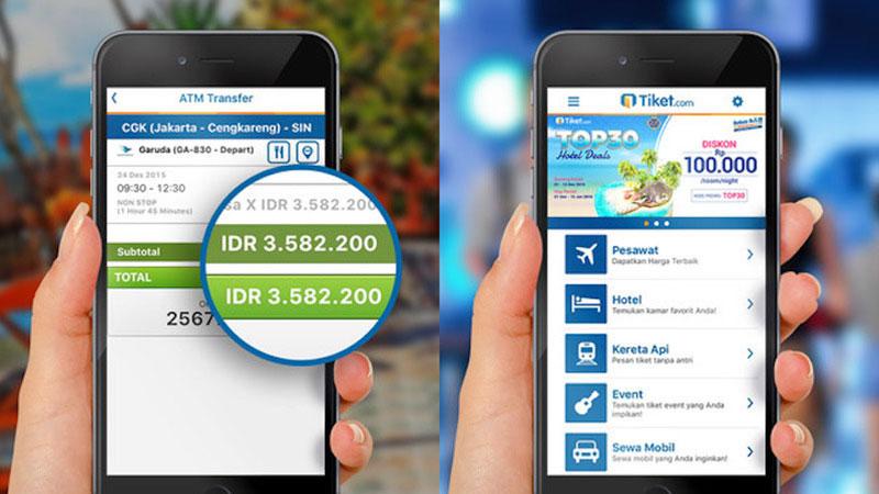 tiket berbenah tampilan situs mobile dan aplikasinya rh id techinasia com