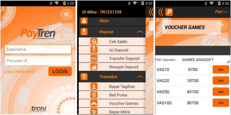 Daftar Aplikasi Isi Pulsa Voucer Game Dan Tagihan Lainnya