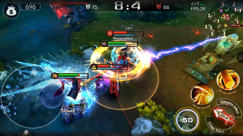 Best MOBA Mobile - Ace of Arenas | Screenshot