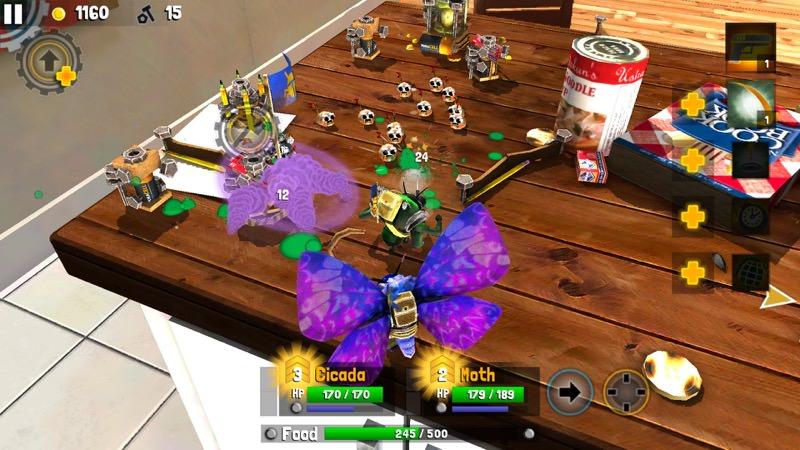 Best MOBA Mobile - Bug Heroes 2 | Screenshot