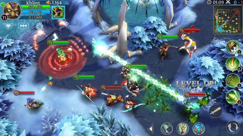 Best MOBA Mobile - Heroes of Order and Chaos | Screenshot