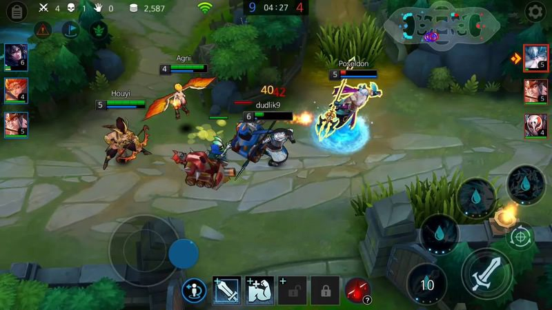 Best MOBA Mobile - League of Masters | Screenshot