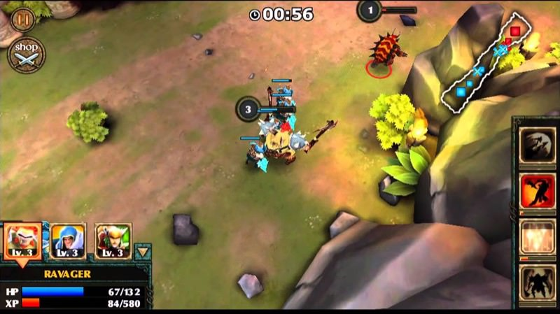 Best MOBA Mobile - Legendary Heroes | Screenshot
