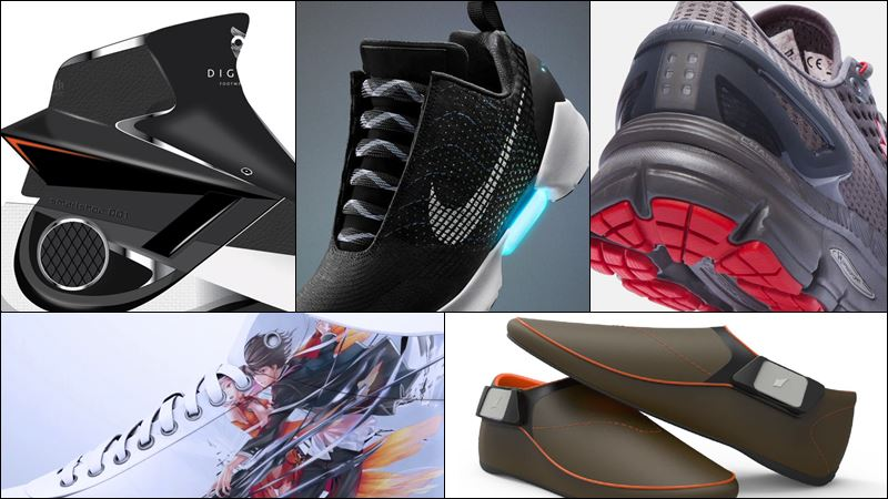5 Sepatu Pintar Berteknologi Canggih  10df154d9a