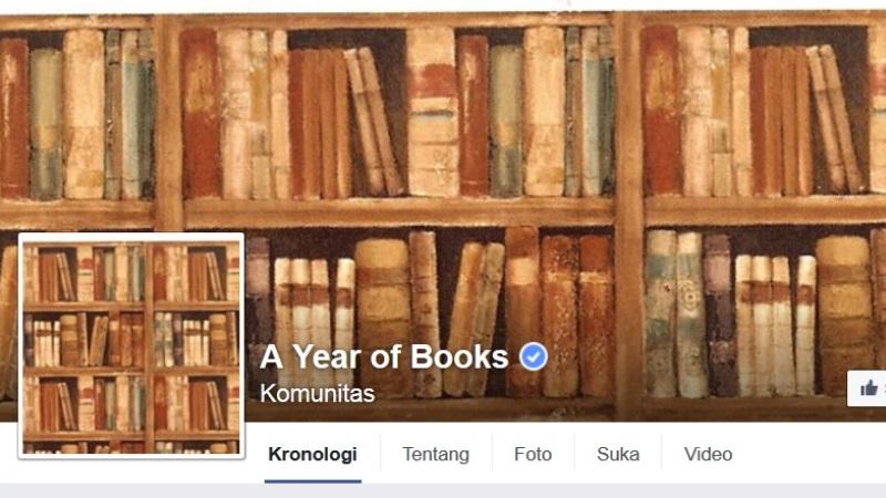 Buku Mark Zuckerberg A Year of Books | Screenshot