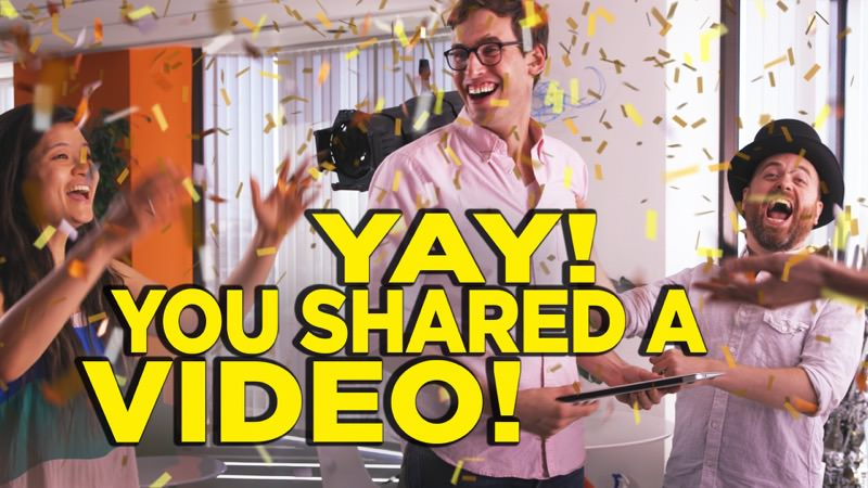 CollegeHumor You Have Shared YouTube Video | Screenshot
