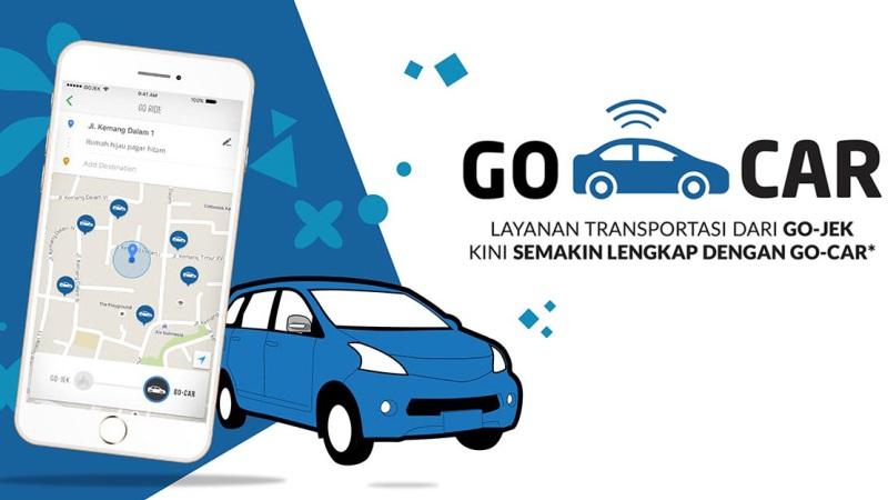 Layanan GO-CAR | Screenshot
