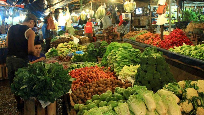 Membeli Sayuran dengan Aplikasi | Ilustrasi