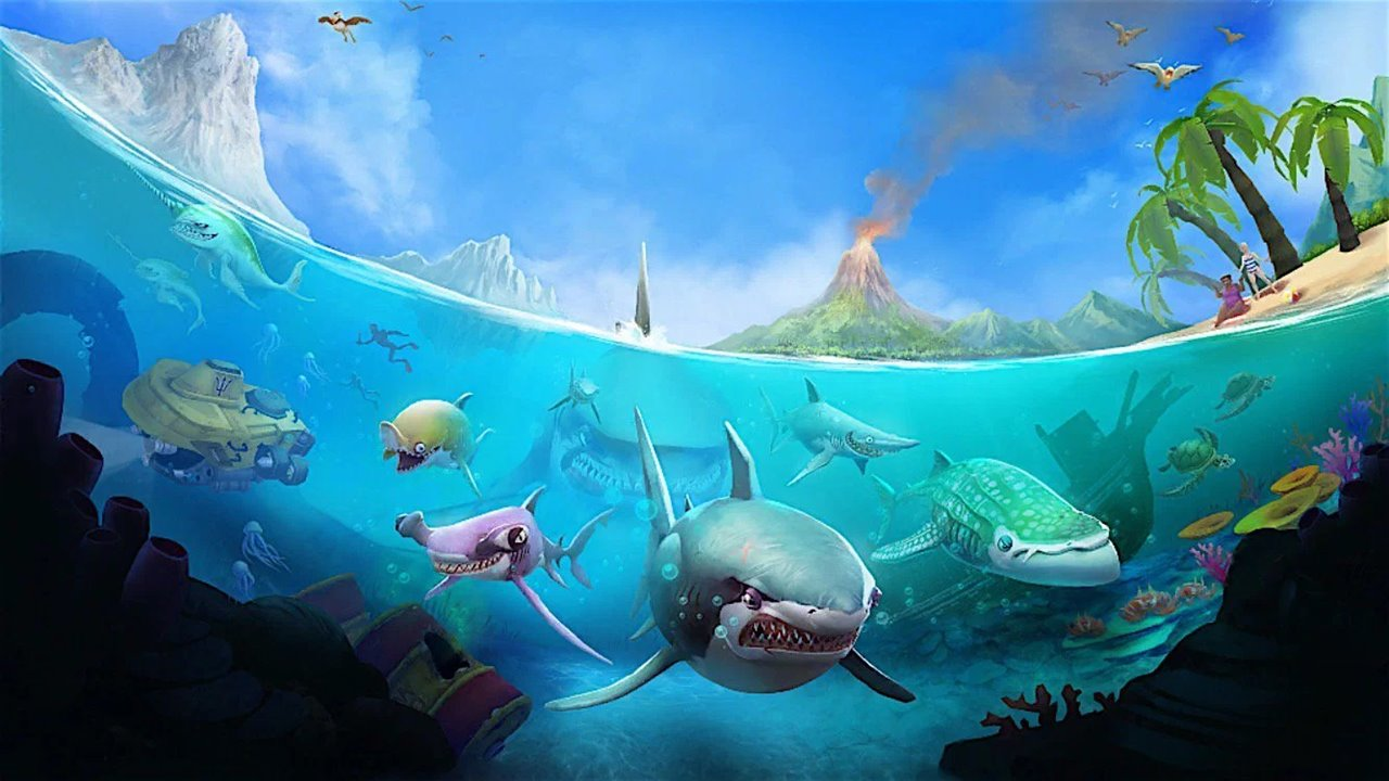 43 Koleksi Gambar Ikan Hiu Bergerak HD