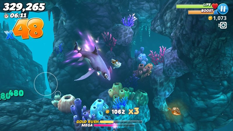 Review Hungry Shark World | Tech in Asia Indonesia