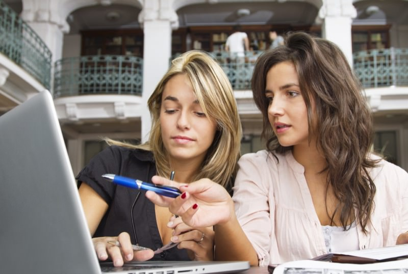 Women Learning in Front of Laptop | Photo