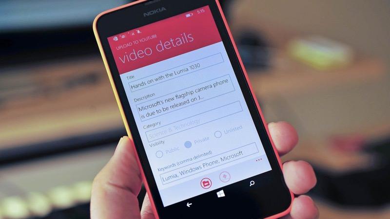 Windows Phone YouTube Uploader | Photo