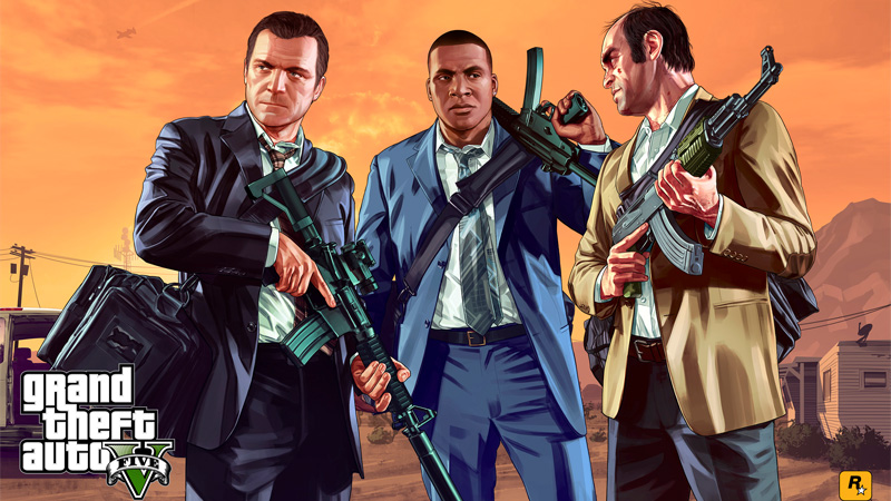 Grand Theft Auto V |Art Work