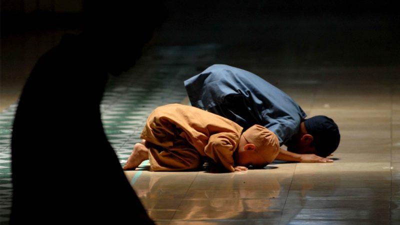 Anak Kecil Shalat | Ilustrasi