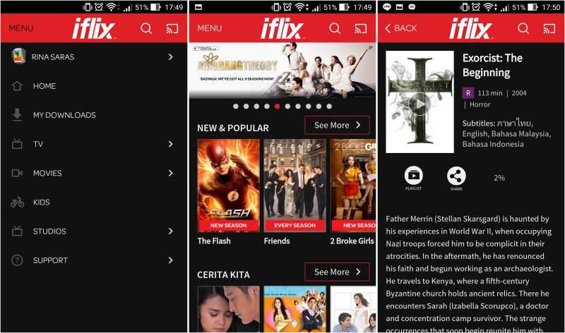 iFlix Layanan Streaming Film Hadir di Indonesia
