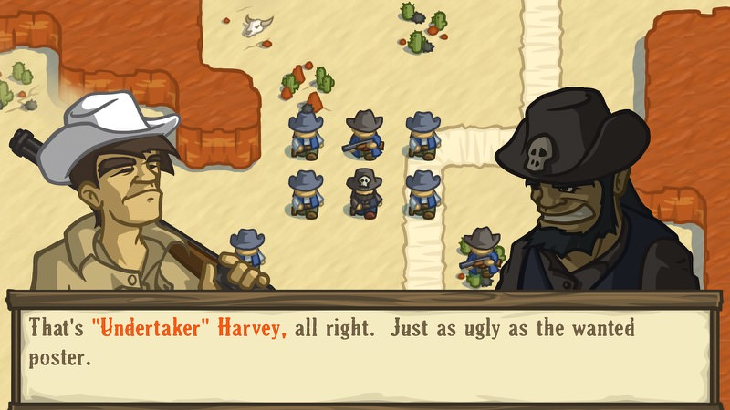 Lost Fronter Undertaker Harvey | Screenshot