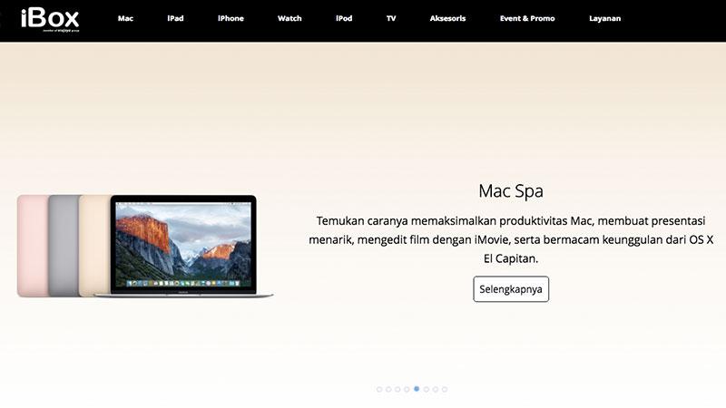 iBox Hadirkan Toko Online untuk Beli Produk Apple Resmi 122bff7ba1