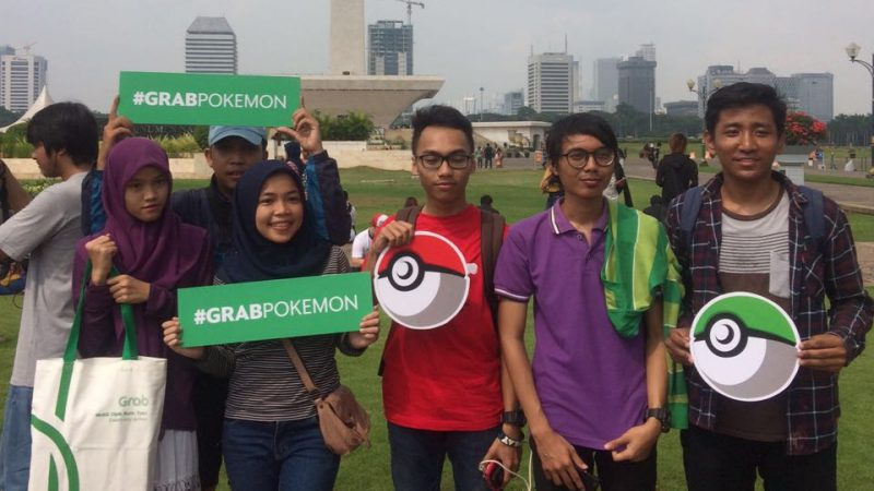 GrabPokemon at Monas 2 | Foto